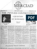 The Merciad, Feb. 21, 1972