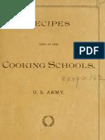 U.S. Army Cook Book 1906