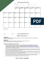 Planning for Tasks in Jun 2011