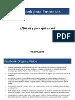 Facebook - Qué es y para que sirve