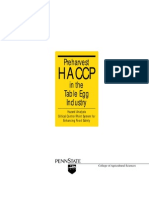 HACCP in Table Egg Industry