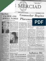 The Merciad, Sept. 21, 1973