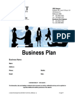 RMIT Business Plan Template 1