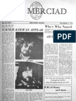 The Merciad, Nov. 9, 1973