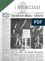 The Merciad, Feb. 15, 1974