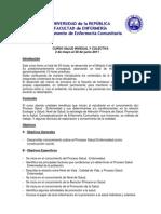 Programa Salud Individual y Colectiva 2011