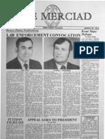 The Merciad, March 29, 1974