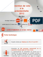 Intention de vote BVA-Orange-PresseRégionale-RTL