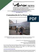 Contaminación de La Oroya – Peru
