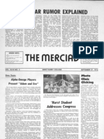 The Merciad, Sept. 27, 1974