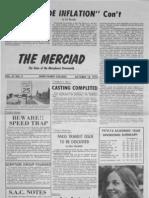 The Merciad, Oct. 18, 1974