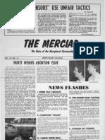 The Merciad, Jan. 31, 1975