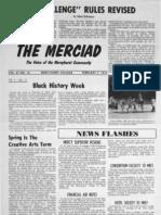The Merciad, Feb. 7, 1975
