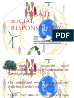 CorporateSocialResponsiblity