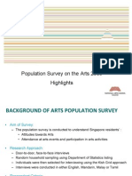 Population Survey of the Arts 2009
