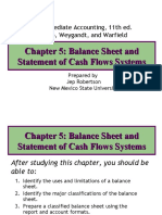 5 Balance Sheet and Statement of Cash Flows Systems