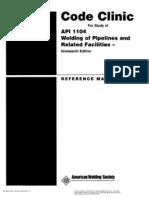 API 1104 Code Clinic