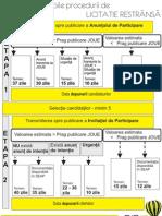 2 - Termene Publicare Anunturi in SEAP Licitatie Restrinsa