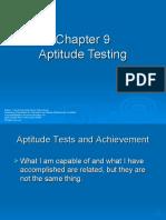 Aptitude Testing - 9