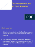 10. Seismic Interpretation