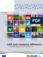 LIFE and resource efficiency