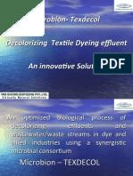 Textile Dye effluent declorizing