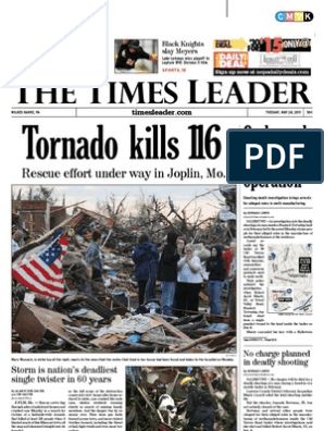 Times Leader 05-24-2011 | Wilkes Barre | Luzerne County