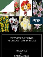 13397082 Export Import Floriculture in India