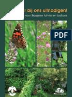 Praktische Gids Voor Brusselse Tuinen en Balkons - Bertin Mampaka Schepen Van Milieu en Groene Ruimten