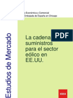 Cadena Suministro Sector Eolico EEUU