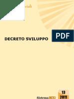 decreto sviluppo 2011