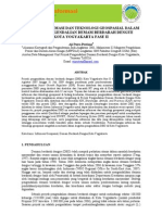 Sains Geoinformasi Peranan Informasi Teknologi Geospasial dalam Pengendalian Demam Berdarah Dengue Kota Yogyakarta