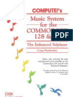 Compute's Music System for the Commodore 128 and 64