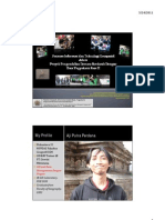 SainsGeoinformasi GeospasialDengue PPT