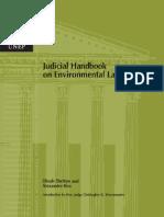 Judicial Handbook in Environmental Law