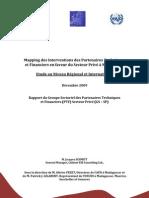 Mapping des interventions des Partenaires Techniques et Financiers en faveur du Secteur Privé à Madagascar(COI/ONUDI - 2009)