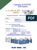 Cpto NATACIÓN-Euskadi-convocatoria2011 INVITACIÓN