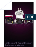 ABB Instrument Transformer Reference Guide, Meter and Relay Applications for the Electrical Industry