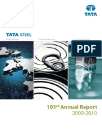 Tata Steel Annual Report 2009 10