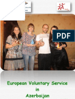 European Voluntary Service in Azerbaijan