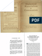 Dialectical Materialism_ Communism_L._ Rudas Labour Monthly