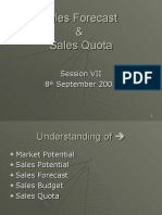 Session 7 - Sales Quota