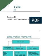 Session 9 - Sales Analysis