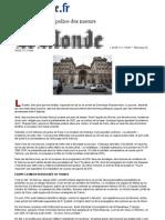Le Monde DSK Sexe, Politique Et Police Des Moeurs