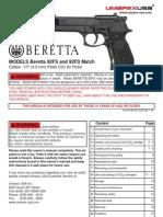 Manual Beretta M92FS En