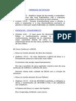 Ministração - FIRMANDO AS ESTACAS