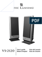 Altec Lancing VS2120 User Guide