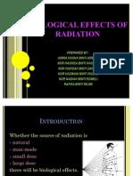 Kesan Radiasi Secara Biologi