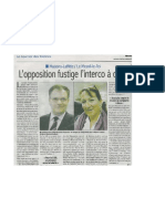 Article Interco Courrier