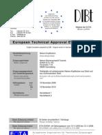 European Technical Approval ETA-03-0041 - Studs